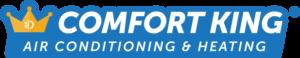 Comfort King Air Conditioning & Heating Logo